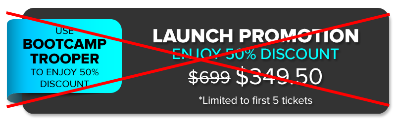 Launch Promo Fully Redeem